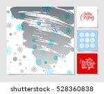 set of christmas decoration...   Shutterstock . vector #528360838