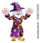 A Cartoon Halloween Wizard...