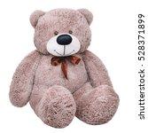 Grey Toy Plush Teddy Bear...