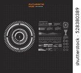 set black and white infographic ...   Shutterstock .eps vector #528380389