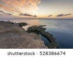 Azure Window Sunset