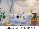 interior design of a luxury... | Shutterstock . vector #528386734