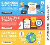 business partnership  effective ... | Shutterstock .eps vector #528386794