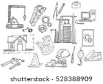 under construction design... | Shutterstock .eps vector #528388909