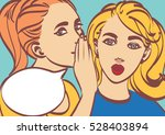 nice vector pop art retro comic ... | Shutterstock .eps vector #528403894