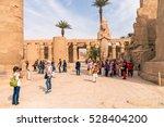 luxor  egypt   november 29 ... | Shutterstock . vector #528404200