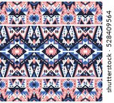 seamless ethnic pattern in... | Shutterstock .eps vector #528409564