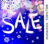 sale. christmas sale banner. | Shutterstock .eps vector #528417388