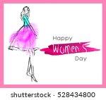 greeting card   international... | Shutterstock .eps vector #528434800