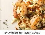 Pasta With Shrimps Served Thyme ...