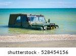 Car Car Submerged In The Sea