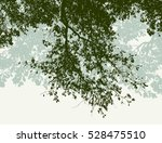 oak branches in the summer | Shutterstock .eps vector #528475510