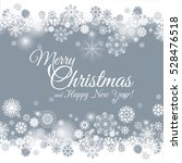snowflakes decoration isolated... | Shutterstock .eps vector #528476518