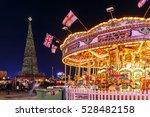 christmas fair in hyde park in... | Shutterstock . vector #528482158
