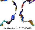 human apart series. design... | Shutterstock . vector #528509410