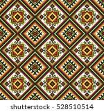 embroidered old handmade cross... | Shutterstock .eps vector #528510514