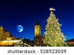 Prague On The Christmas  Czech...