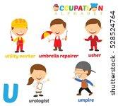 vector illustration of alphabet ...   Shutterstock .eps vector #528524764