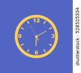 wall clock. | Shutterstock .eps vector #528525334