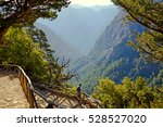 Crete Samaria Gorge Overlook
