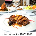 prepared with a special... | Shutterstock . vector #528529000