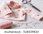 sewing baby clothes | Shutterstock . vector #528539833