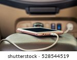 charger plug phone on car | Shutterstock . vector #528544519
