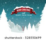 merry christmas and happy new... | Shutterstock .eps vector #528550699
