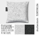 design vector cushion. isolated ... | Shutterstock .eps vector #528558136