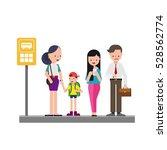 bus station | Shutterstock .eps vector #528562774