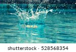 water splashing as wallpaper  ... | Shutterstock . vector #528568354
