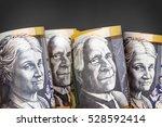 australian money background. ... | Shutterstock . vector #528592414