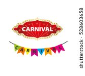 vector logo carnival | Shutterstock .eps vector #528603658