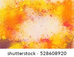 holi colors background.... | Shutterstock . vector #528608920