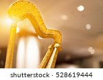 Harps Golden Light Background...