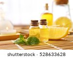 beautiful spa composition with... | Shutterstock . vector #528633628
