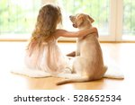 Little Girl With Golden...