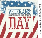 veterans day typography on... | Shutterstock . vector #528656824