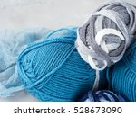 Winter Color Wool Yarn With...
