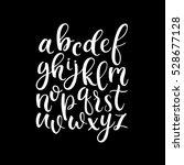 modern lettering latin  ... | Shutterstock .eps vector #528677128