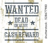 """wanted"" poster. on wooden... 