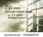 inspiration word on blurred... | Shutterstock . vector #528680929