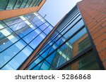 corporate building reflections | Shutterstock . vector #5286868