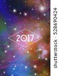 astrological new year 2017...   Shutterstock .eps vector #528690424