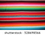 poncho background cinco de mayo ... | Shutterstock . vector #528698566