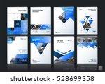 business vector set. brochure... | Shutterstock .eps vector #528699358