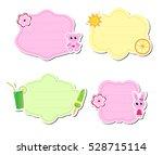 cute kids frame for text ...   Shutterstock .eps vector #528715114