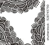 beautiful nature background.... | Shutterstock .eps vector #528745750