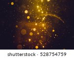 gold abstract bokeh background | Shutterstock . vector #528754759