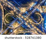 road traffic in city at... | Shutterstock . vector #528761380